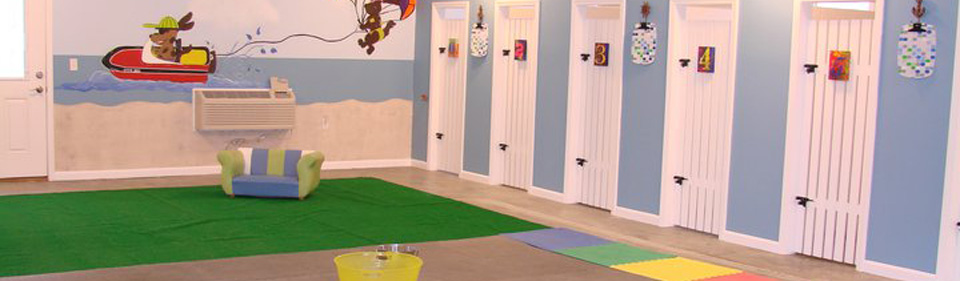 Paw Print Pet Resort Dog Boarding Facility Located In